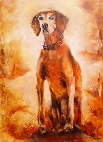 Edeldith, Jason   2005 - 2019, Tiere, Jagd, expressiver Realismus, Expressionismus