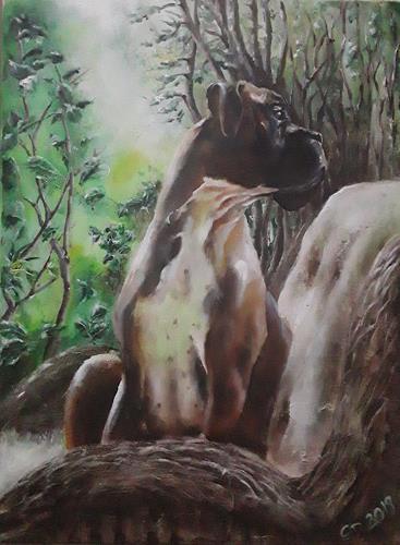 Edeldith, Bob, Tiere, Natur, expressiver Realismus, Expressionismus