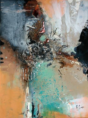 Bernadette Möllmann, Glück, Abstraktes, Abstrakte Kunst