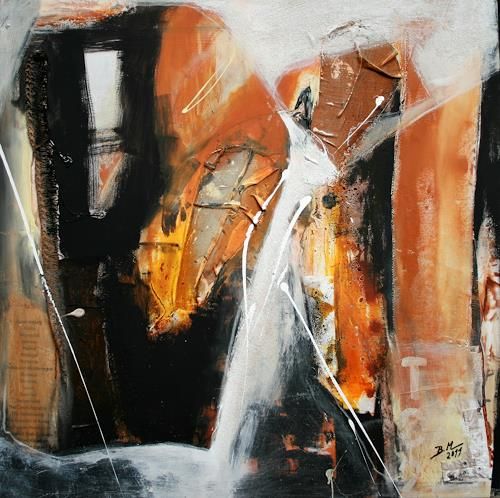 Bernadette Möllmann, Fernweh, Abstraktes, Abstrakte Kunst, Abstrakter Expressionismus