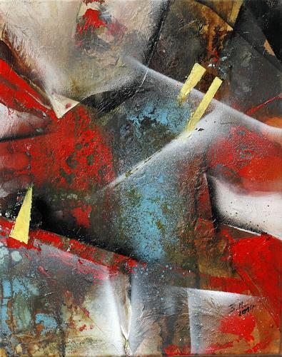 Bernadette Möllmann, Ready, Abstraktes, Abstrakte Kunst, Abstrakter Expressionismus