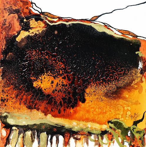 Bernadette Möllmann, Vernetzt, Abstraktes, Abstraktes, Abstrakte Kunst, Expressionismus