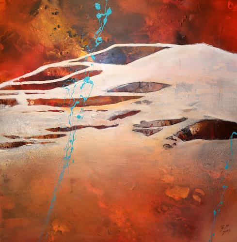 Bernadette Möllmann, Im Wechselbad der Gefühle, Abstraktes, Abstrakte Kunst, Abstrakter Expressionismus