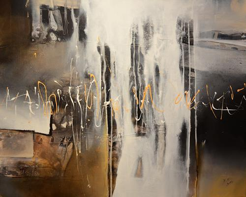 Bernadette Möllmann, Auf neuen Wegen 1, Abstraktes, Abstrakte Kunst, Abstrakter Expressionismus