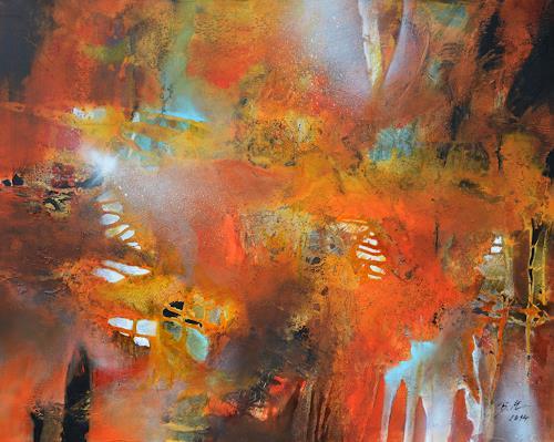 Bernadette Möllmann, Freudentränen, Abstraktes, Abstrakte Kunst, Expressionismus