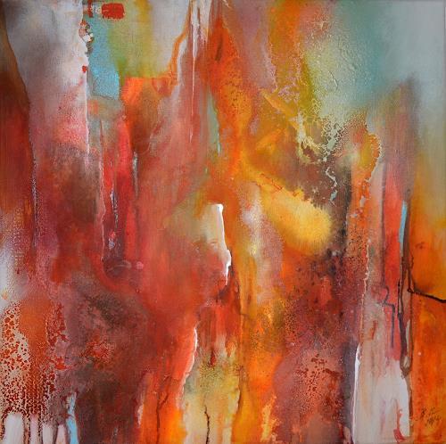 Bernadette Möllmann, .... und irgendwann scheint die Sonne wieder., Abstraktes, Abstrakte Kunst, Expressionismus