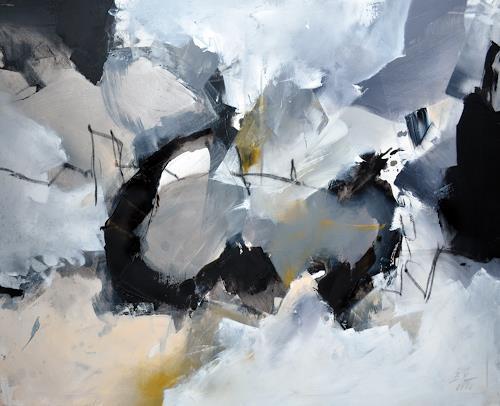 Bernadette Möllmann, Die Wolken ziehen weiter, Abstraktes, Abstrakte Kunst, Abstrakter Expressionismus