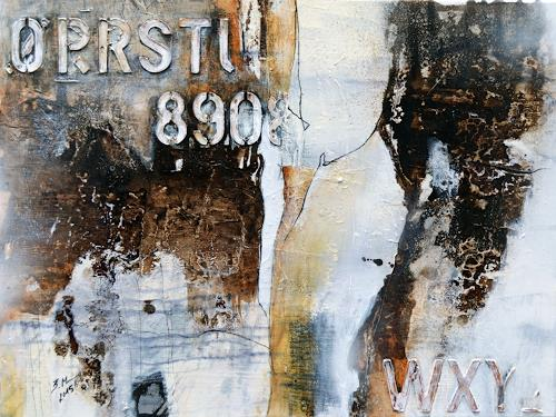 Bernadette Möllmann, Vergangenes, Abstraktes, Aktionskunst, Expressionismus