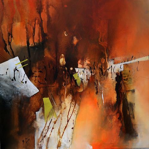 Bernadette Möllmann, Auf neuen Wegen, Abstraktes, Abstrakte Kunst, Abstrakter Expressionismus