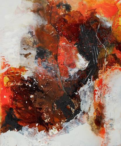 Bernadette Möllmann, Verbindungen, Abstraktes, Abstrakter Expressionismus