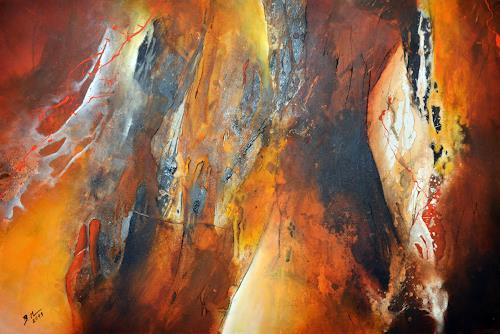 Bernadette Möllmann, Wegbegleiter, Abstraktes, Abstrakte Kunst, Expressionismus