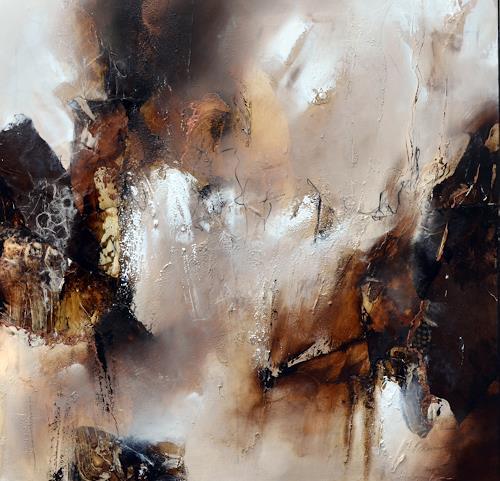 Bernadette Möllmann, vergangenes bewahren, Abstraktes, Informel, Abstrakter Expressionismus