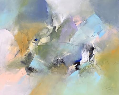 Bernadette Möllmann, Im Hier und Jetzt, Abstraktes, Informel, Expressionismus