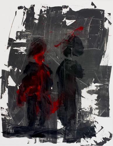 Jo, Treffpunkt, Abstraktes, Abstrakter Expressionismus