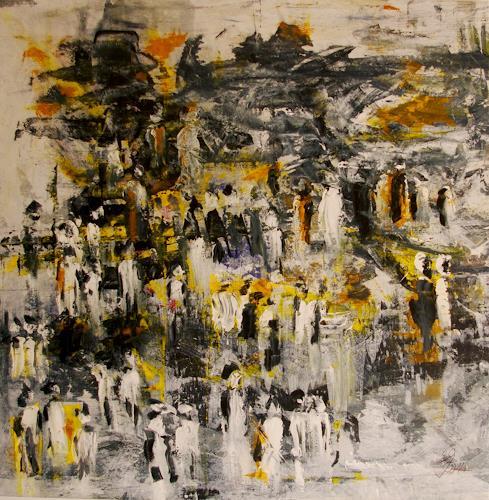Jo, Jüngstes Gericht, Menschen, Abstrakter Expressionismus