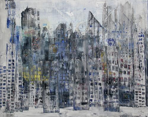 Jo, Skyline, Gefühle, Abstrakte Kunst