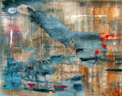 Jo, Atlantis, Abstraktes, Abstrakter Expressionismus
