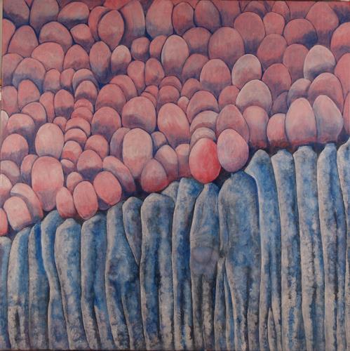Theo Eckerle, Tagträume, Fantasie, Gegenwartskunst, Expressionismus