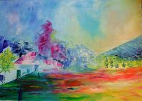 E.-Mrabet-Bauten-Stilleben-Moderne-Impressionismus