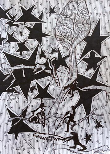eugen lötscher, trost, 3. oktober 2015, Menschen, Menschen, Gegenwartskunst, Abstrakter Expressionismus