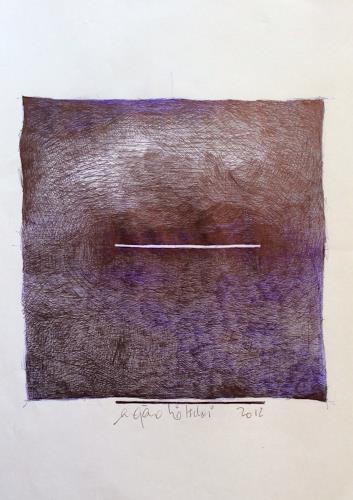 eugen lötscher, lichtstreifen, 2012, Poesie, Poesie, Gegenwartskunst, Abstrakter Expressionismus