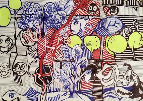 eugen lötscher, gedeihen, 18. oktober 2105, Gefühle, Natur, Gegenwartskunst, Expressionismus