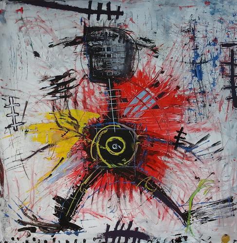 eugen lötscher, suicide bomber,  2017, Menschen, Menschen, Abstrakte Kunst, Abstrakter Expressionismus