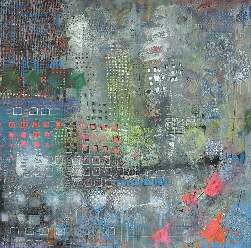 eugen lötscher, urban, Architektur, Diverse Bauten, Gegenwartskunst, Abstrakter Expressionismus
