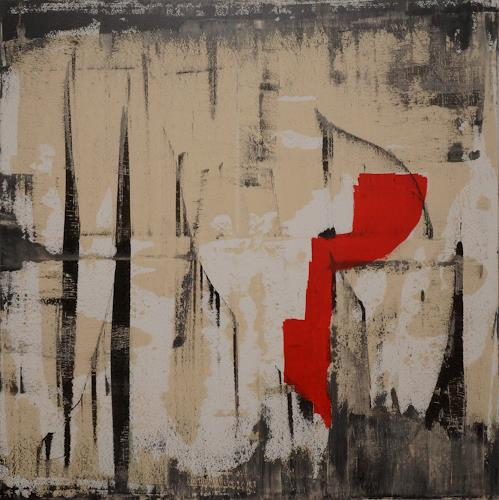 Remo Passeri, spontan, Abstraktes, Abstrakte Kunst