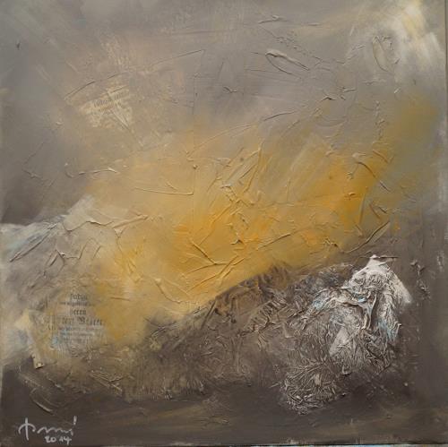 Remo Passeri, November II, Abstraktes, Abstrakte Kunst