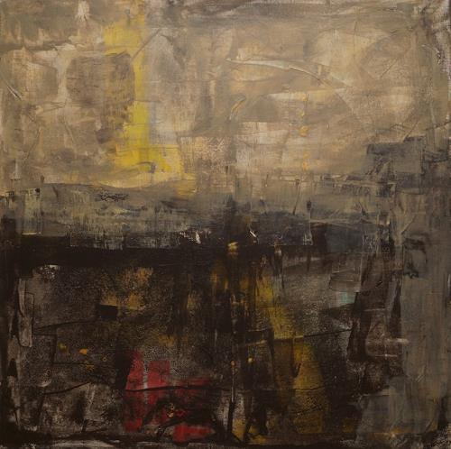 Remo Passeri, ein neuer Tag beginnt, Abstraktes, Abstrakte Kunst, Abstrakter Expressionismus