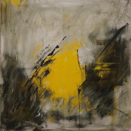 Remo Passeri, Aufbruch II, Abstraktes, Abstrakte Kunst