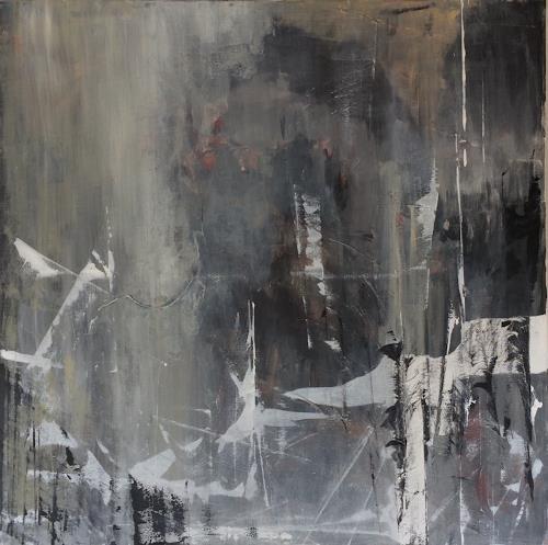 Remo Passeri, Licht im Dunkel, Abstraktes, Abstrakte Kunst, Abstrakter Expressionismus