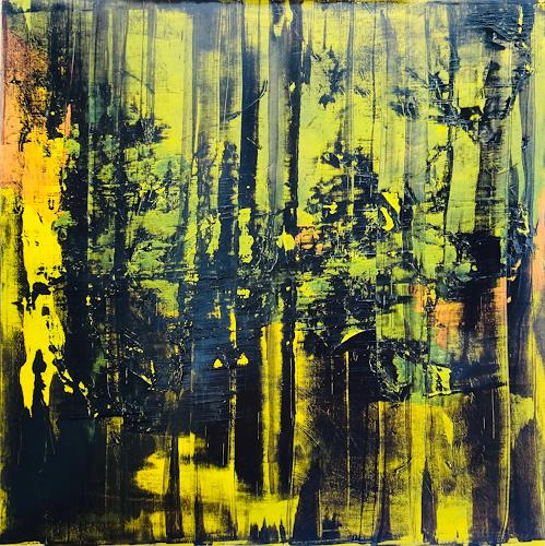 Remo Passeri, o.T., Abstraktes, Abstrakte Kunst, Expressionismus