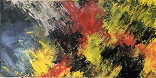 Remo Passeri, Farbenrausch, Abstraktes, Abstrakte Kunst