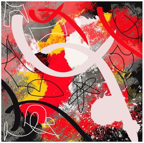 Remo Passeri, ohne Titel, Abstraktes, Abstrakte Kunst, Abstrakter Expressionismus