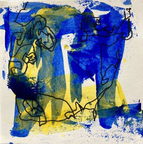 Remo Passeri, colorata 5, Abstraktes, Abstrakte Kunst, Abstrakter Expressionismus