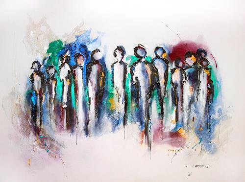 biancaneve Art & Design, Humanity, Abstraktes, Gegenwartskunst