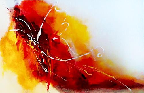 biancaneve Art & Design, Frühlingserwachen, Abstraktes, Tiere: Luft, Gegenwartskunst, Expressionismus