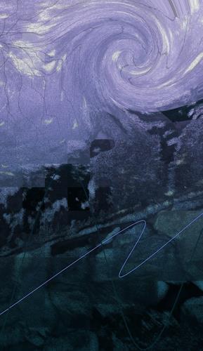 Kerry Happ, WIRBEL, Fantasie, Bewegung, Gegenwartskunst