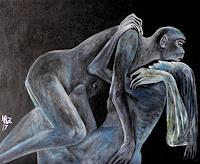 Hanna-Rheinz-Menschen-Paare-Diverse-Erotik-Gegenwartskunst-Gegenwartskunst