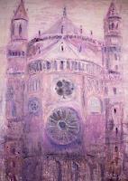 Barbara-Schauss-1-Bauten-Kirchen-Moderne-Impressionismus-Neo-Impressionismus