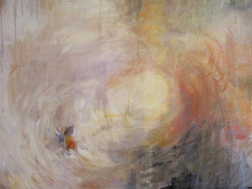 Barbara Schauß, I love Turner II, Abstraktes, Romantik, Abstrakte Kunst, Expressionismus