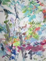 Barbara-Schauss-1-Diverse-Pflanzen-Natur-Moderne-Expressionismus-Abstrakter-Expressionismus