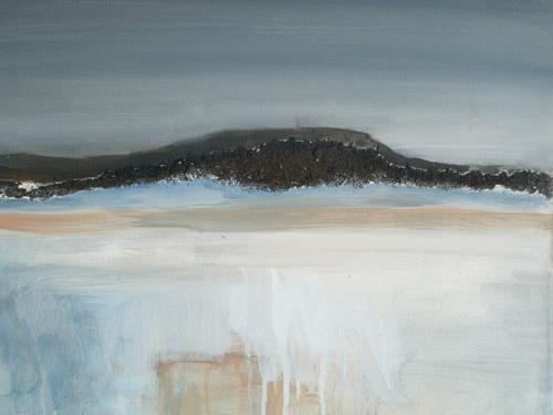Barbara Schauß, Donnersberg I, Landschaft: Berge, Natur, Gegenwartskunst