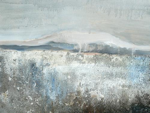 Barbara Schauß, Donnersberg II, Landschaft: Berge, Abstraktes, Gegenwartskunst, Expressionismus