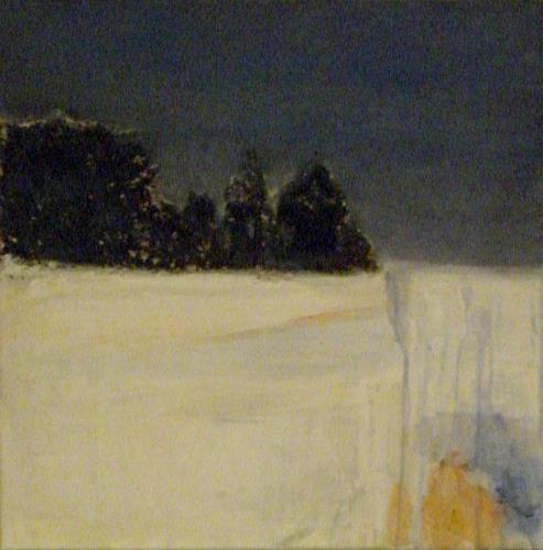 Barbara Schauß, Schlern I, Landschaft: Berge, Abstraktes, Gegenwartskunst, Expressionismus