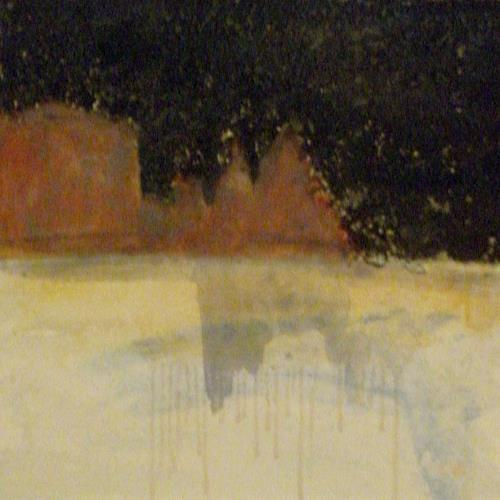Barbara Schauß, Schlern III, Landschaft: Berge, Abstraktes, Gegenwartskunst