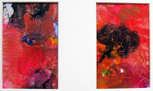 Barbara Schauß, duo o.T. 2015, Abstraktes, Diverses, Gegenwartskunst