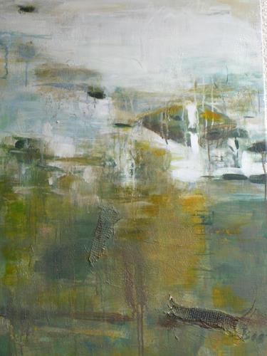 Barbara Schauß, waterscape, Landschaft, Abstraktes, Gegenwartskunst